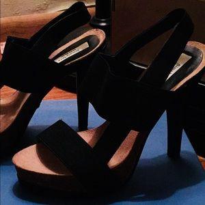 Used, Open toe heels